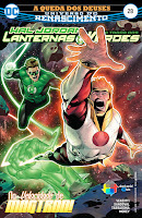 DC Renascimento: Hal Jordan e a Tropa dos Lanternas Verdes #28