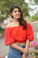 Rhea Chakraborty in Red Crop Top and Denim Shorts Spicy Pics ~  Exclusive 087.JPG