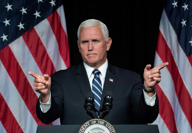Tinuku Mike Pence The time has come to the United States Space Force