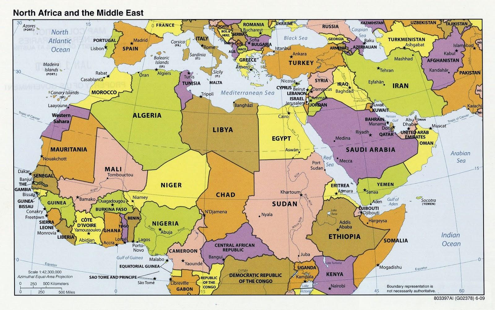 landkarte nordafrika Nordafrika Landkarte landkarte nordafrika