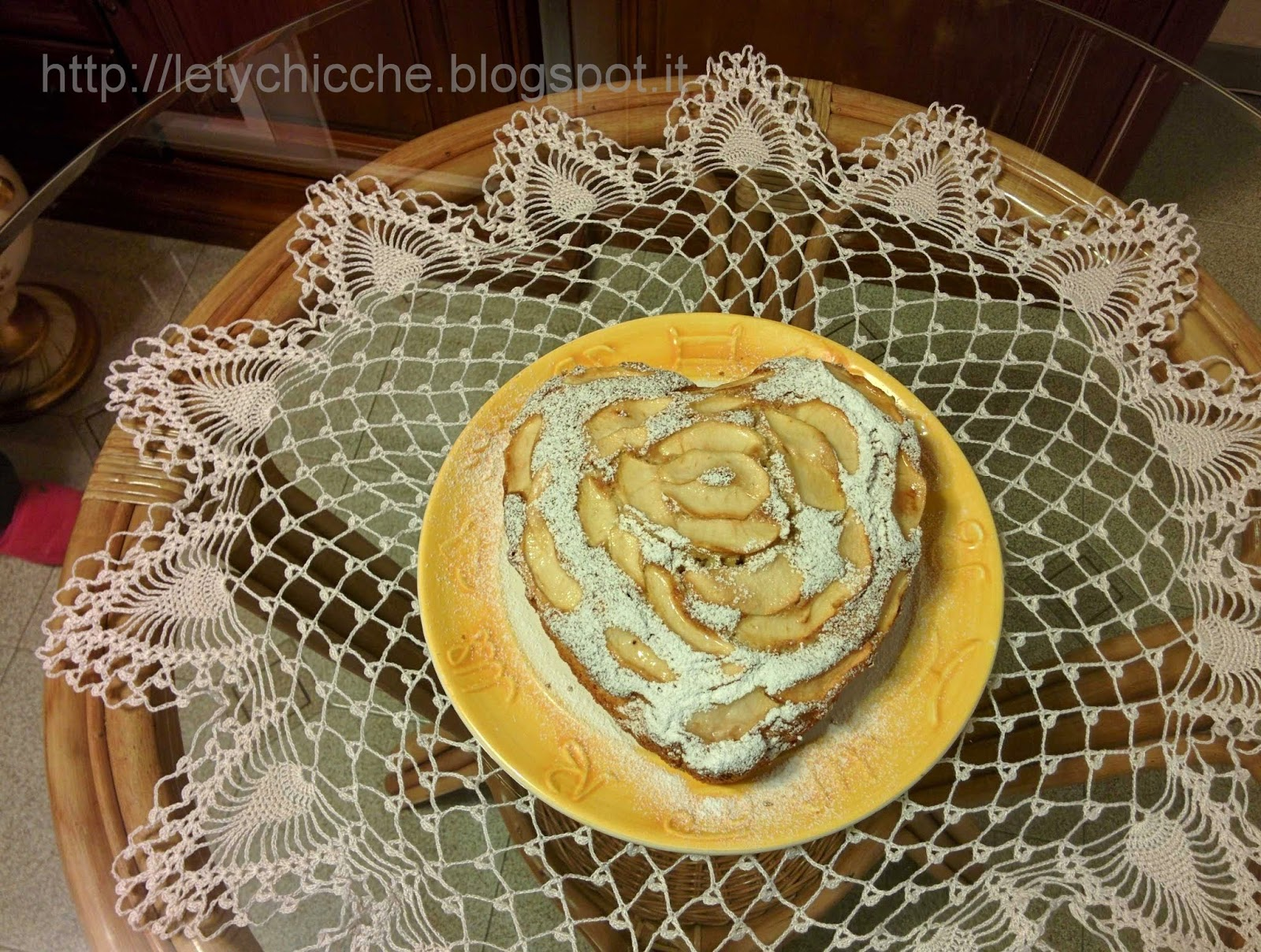 Torta di mele - Letychicche
