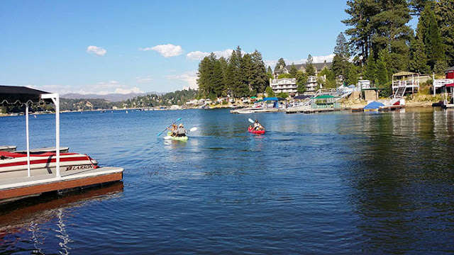 lake arrowhead, kayaking