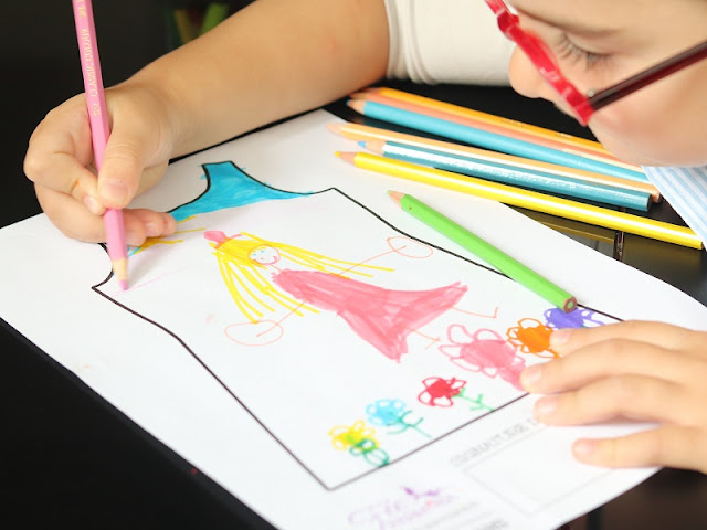 dessin princesse enfant
