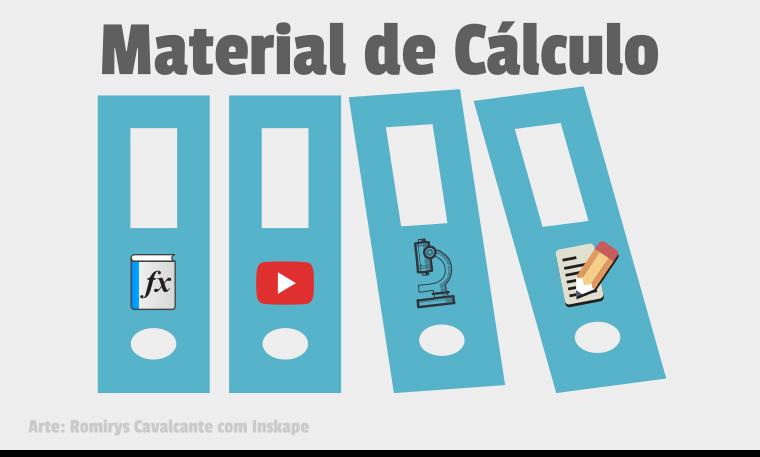 Material de Cálculo - Livros, conteúdos, dicas, curso gratuito e exercícios