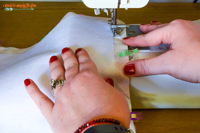 Sewing with Fusible Fleece