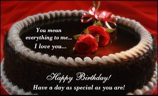 happy birthday choclate cake
