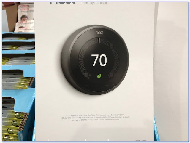 How much is nest thermostat at Costco