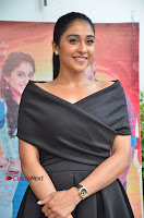 Actress Regina Candra Pos in Beautiful Black Short Dress at Saravanan Irukka Bayamaen Tamil Movie Press Meet  0024.jpg