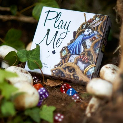 PlayMe: Alice in Wonderdice (Kickstarter)