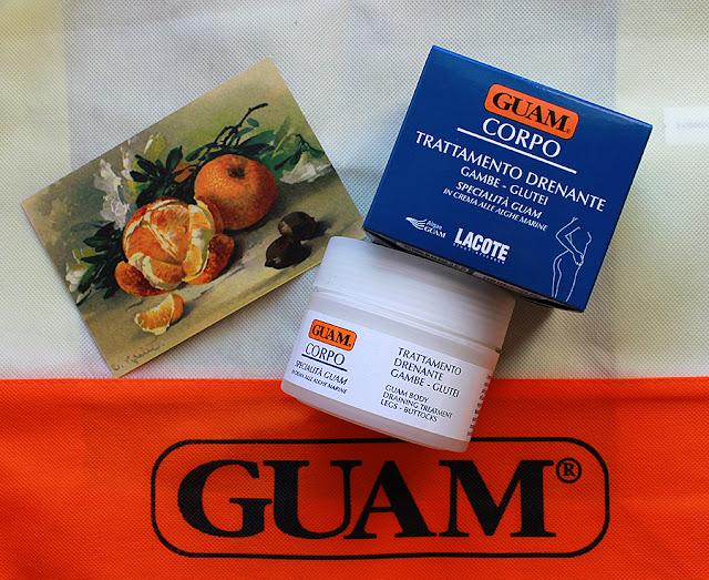 крем для ног с дренажным эффектом GUAM Specialistica