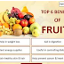 Top 6 Healthy Fruits