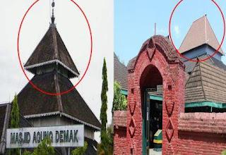 Inilah Jawaban Kenapa Masjid Agung Cirebon Tidak Berkubah Kerucut