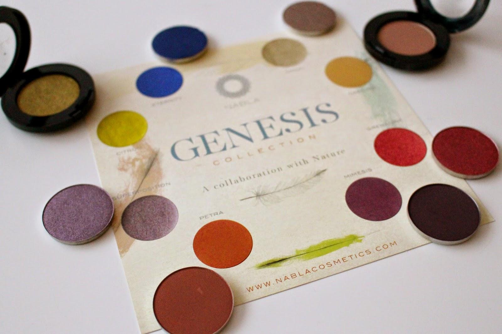 Nabla Cosmetics II (Colección Genesis & Le Film Noir)