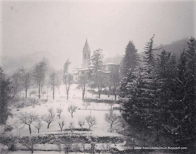 Toskania pod śniegiem