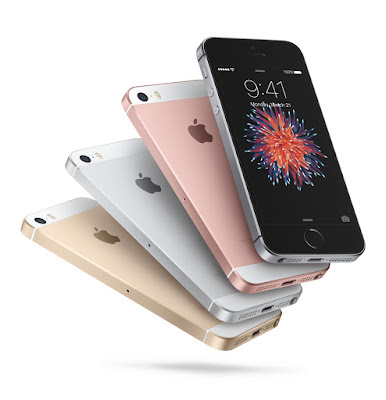 "Apple announces four-inch iPhone SE, Apple announces 4"" iPhone SE with A9 CPU, same design as iPhone 5s, starting at $399, Apple's 4-inch iPhone SE starts at $399, arrives next week"