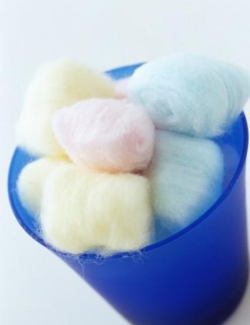 dieta de las bolas de algodon