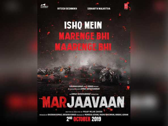Movie Poster 2019: Marjaavaan 2019: Hindi Movie Full Star Cast & Crew, Story