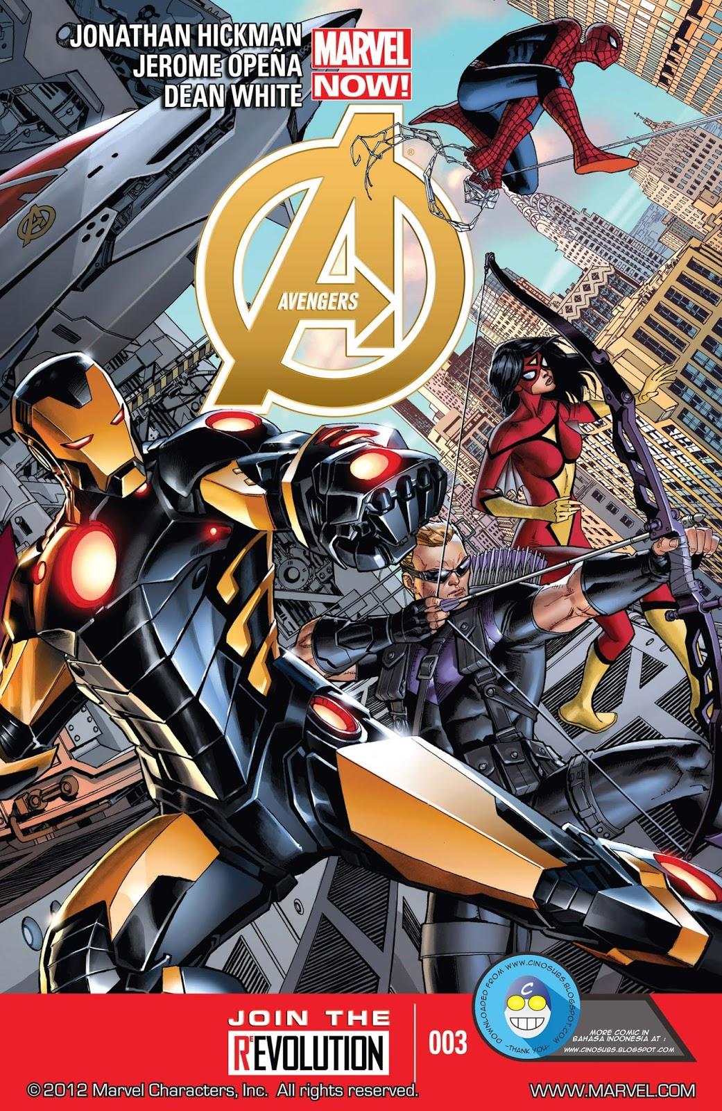 komik the avengers #3 (2012) - komik pos - baca komik
