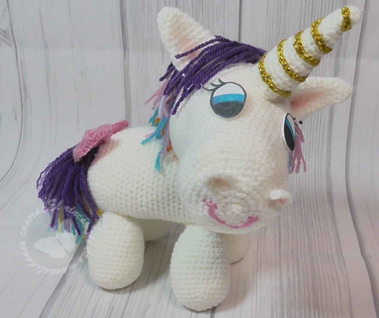 Como tejer Unicornio amigurumi tejido a crochet - Paso a Paso ... | 1054x1256