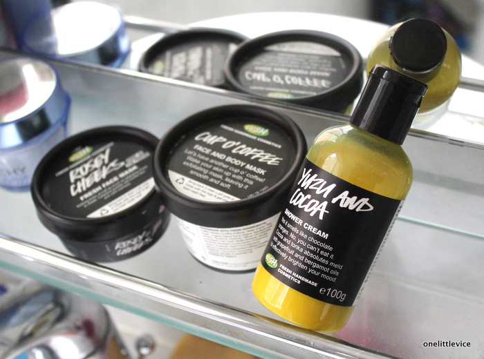 one little vice beauty blog: Lush Oxford Street Haul and Review