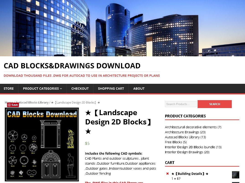 Cad Blocks And Drawings Download Landscape Design 2d Blocks