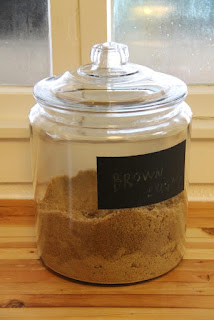 Brown sugar jar