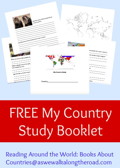 Free printable country study packet