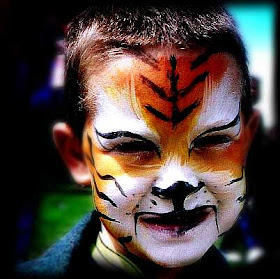 Full Body Painting Halloween Face Paint Ideas For Kids