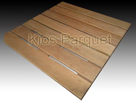 Harga decking gradent tile polos