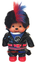 Monchhichi Tokyo Fashion Punk Boy 236370