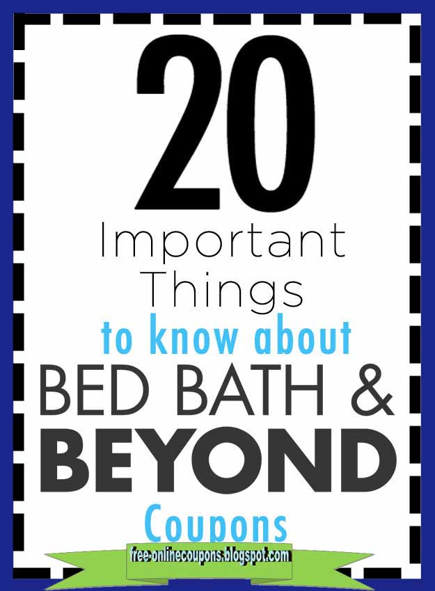 Bed Bath And Beyond How To Redeem Coupons Online