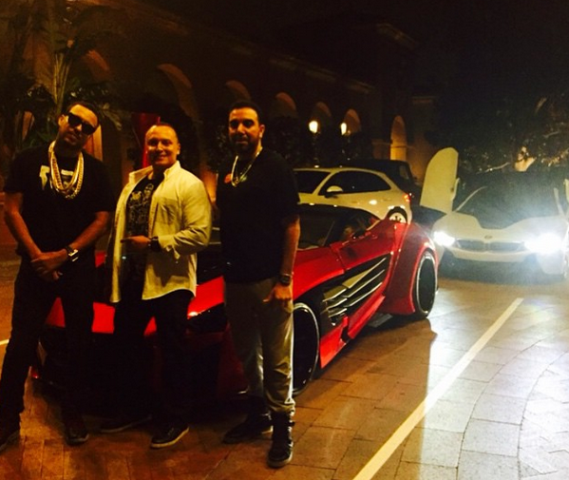Photos french montana shows off his new luxury car for French shows