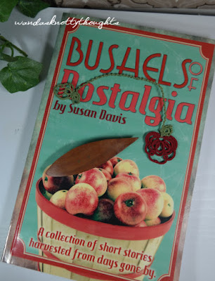 Apples for Auction with Bushels of Nostalgia book and tatted apple bookmark from wandasknottythoughts 2015-10-27