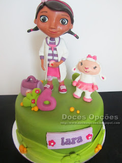 birthday cake Doc McStuffins disney