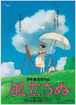 Poster: The Wind Rises (Kaze Tachinu)