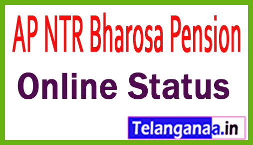 AP NTR Bharosa Pension List AP Pension Online Status