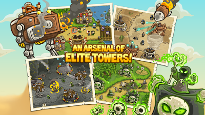 Kingdom Rush Frontiers 1.4.2 Mod Apk-screenshot-3