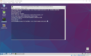 Lubuntu after a couple of small changes running inside VirtualBox