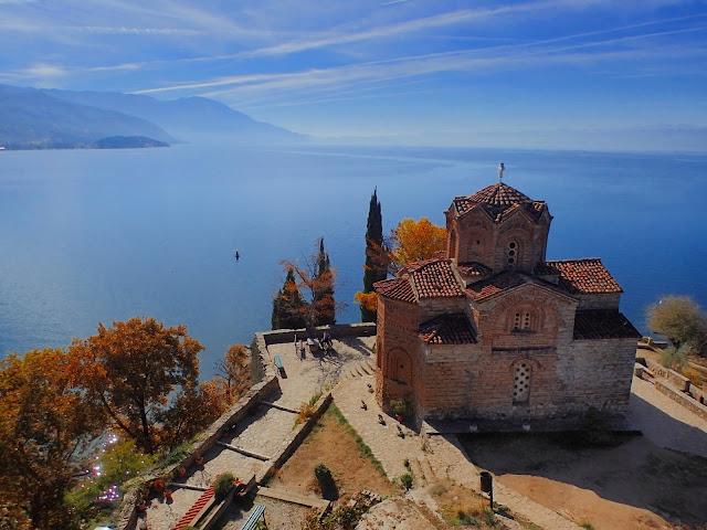 Kaneo (Ochryda) - jeden z najczęściej fotografowanych widoków Macedonii