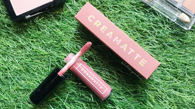 Review dan Swatch Emina Creamatte Lip Cream in Mauvelous
