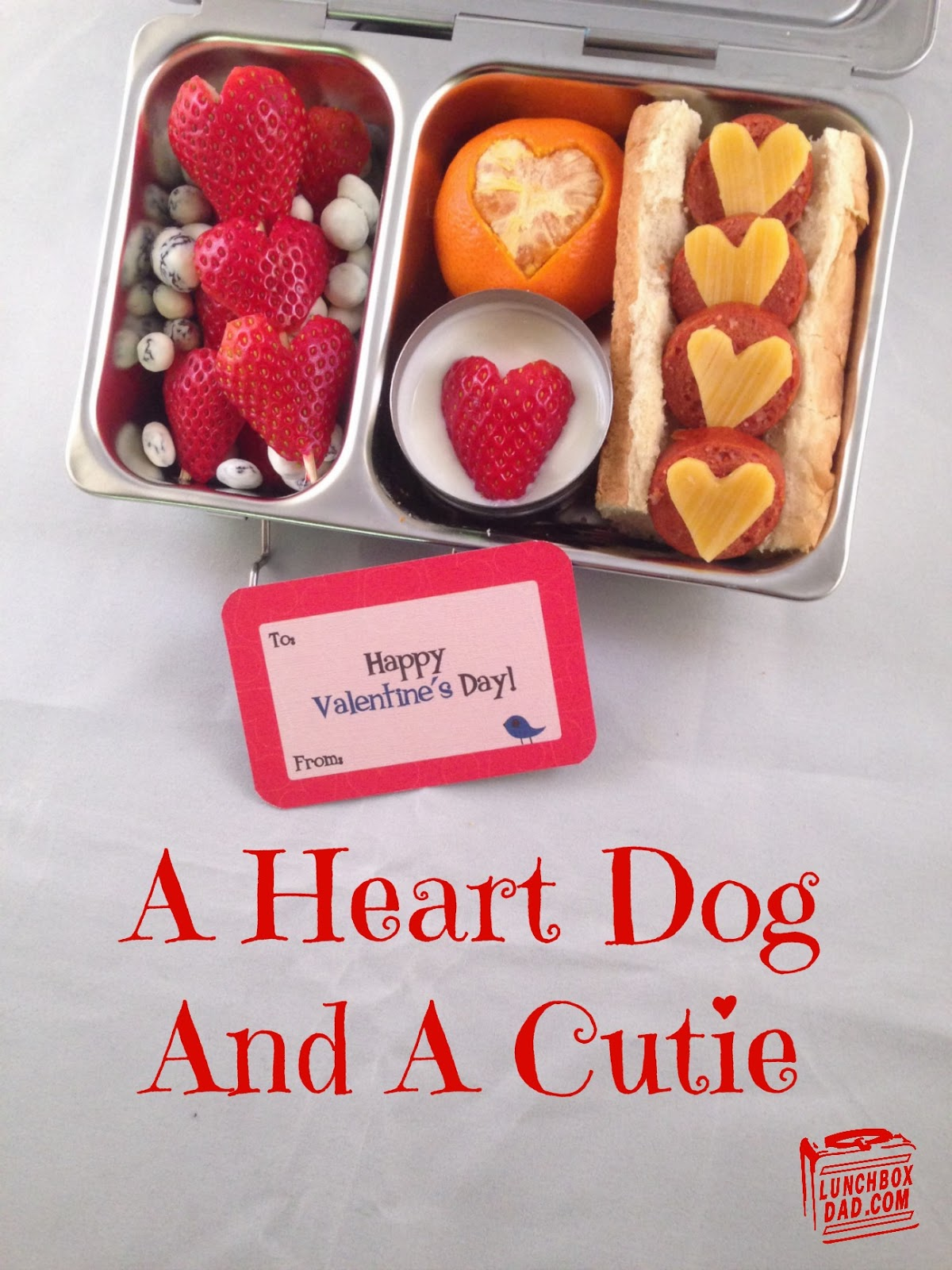 A Heart Dog and A Cutie Lunch