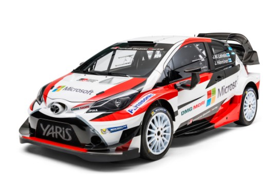 Toyota Yaris WRC car marks return to rallying in 2019