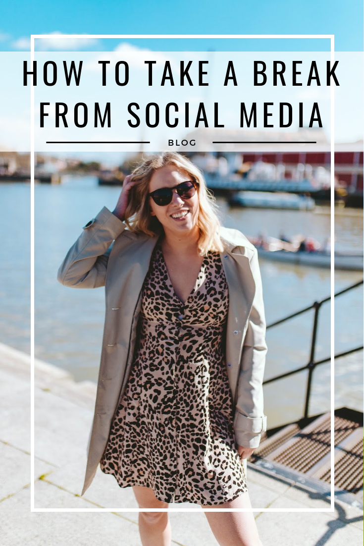 Wellness | How to take a break from social media - Rachel Emily Blog