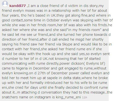 Sad Story Of A Girl That Was Betrayed By Roommate Who Snatched And