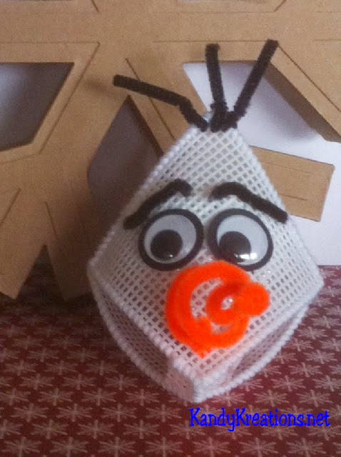 Olaf the Snowman Hershey Kiss Party Favor
