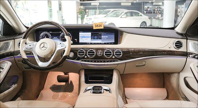Thiết kế nội thất Mercedes S450 L 2018