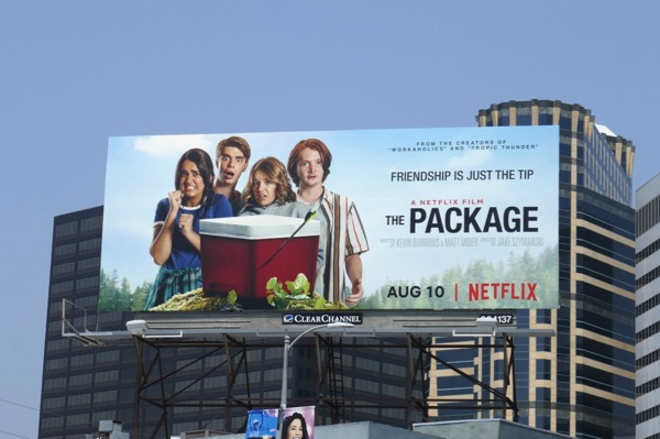 Package film billboard