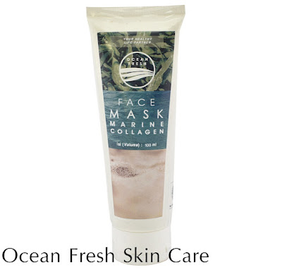 Face Mask Marine Collagen Ocean Fresh Seaweed Chitosan
