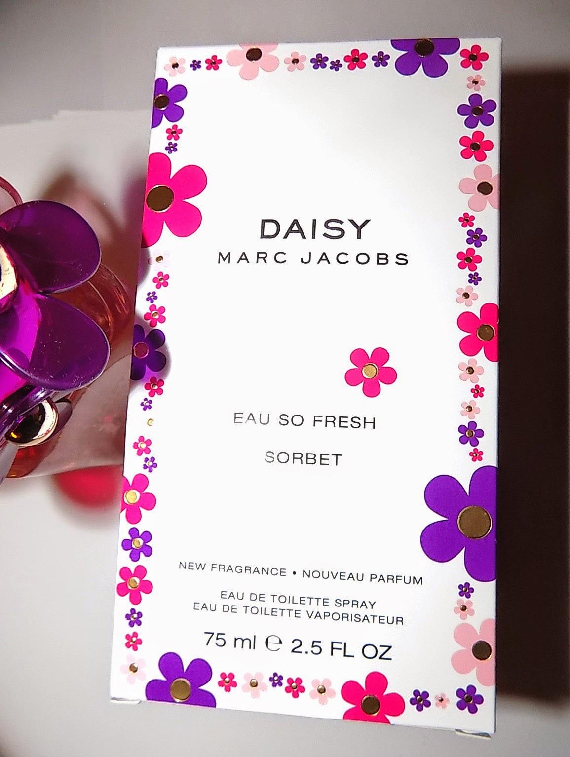 the beauty alchemist marc jacobs daisy eau so fresh sorbet. Black Bedroom Furniture Sets. Home Design Ideas