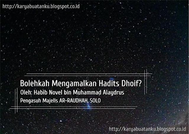 Hadis_Dhaif
